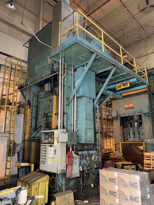 800 Ton Verson S1-800-72-72T Straight Side Press
