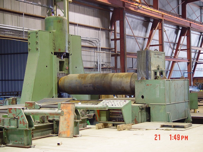 """12' x 5.87""""  Voest Alpine Hydraulic (Hot Rolling) Plate Roll"""