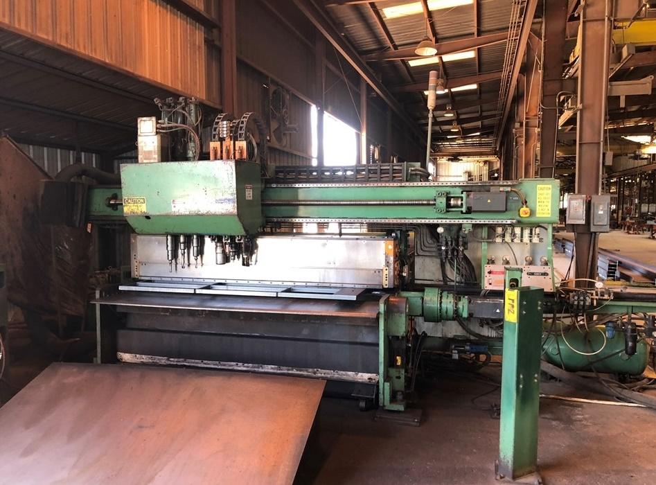 Peddinghaus Model FDB 2500 CNC Plate Processing Line (2008)
