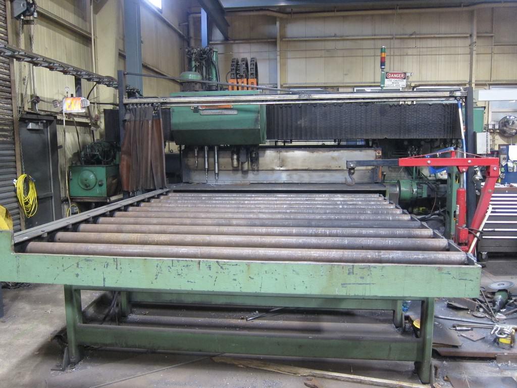 Peddinghaus FDB-2500 CNC Plate Processing Line