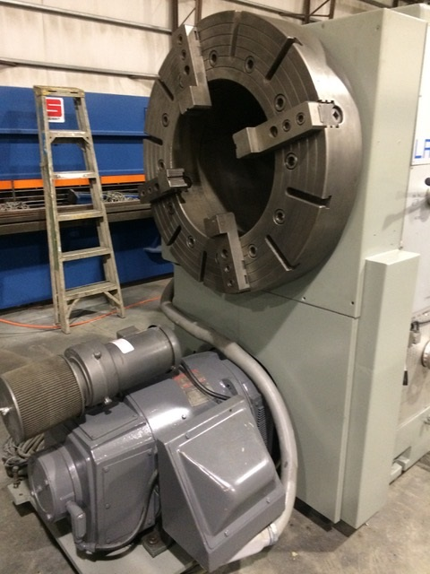 "20"" Big Bore 43"" x 120"" Lansing Hollow Spindle Engine Lathe"