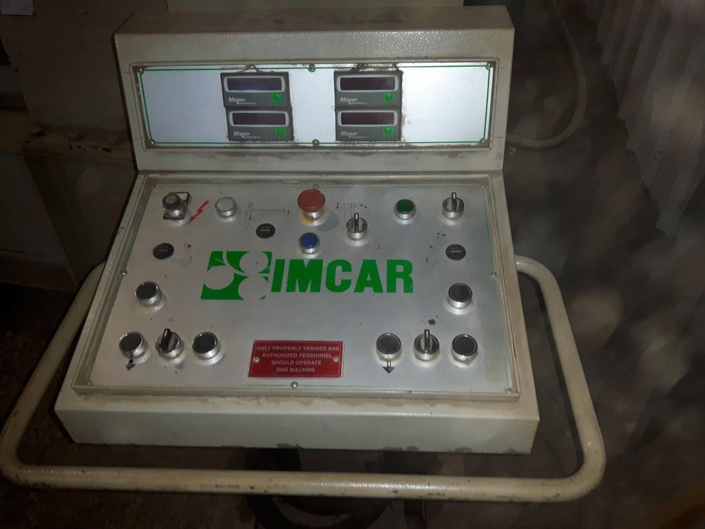 """10' x 3/4"""" IMCAR SIHR 17/5 Hydraulic 3 Roll Plate Roll"""