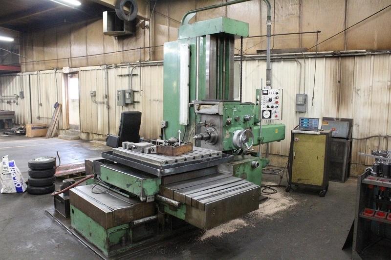 3.35 Nomura Horizontal Boring Mill