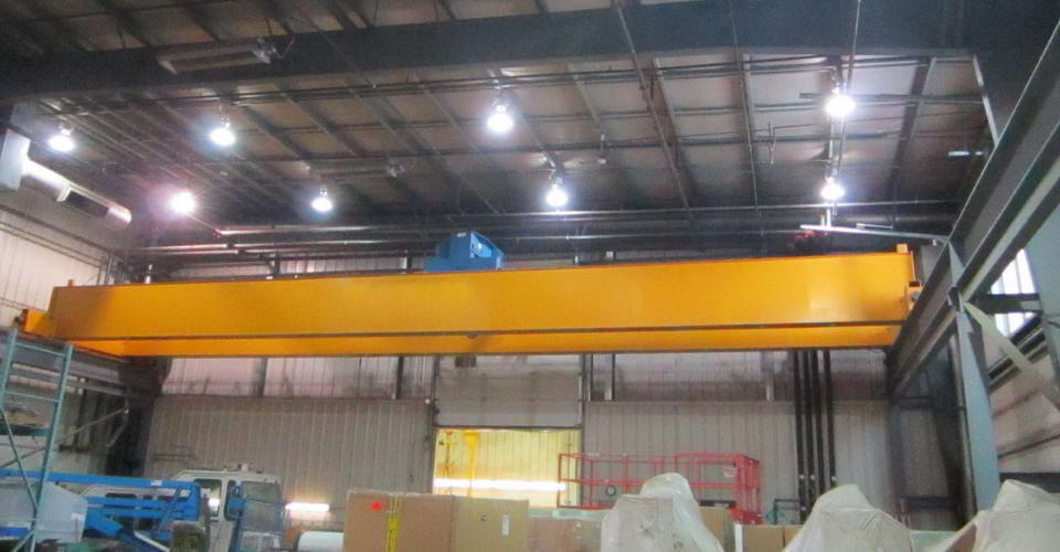 ABUS 30 Ton Double Girder Overhead Bridge Crane