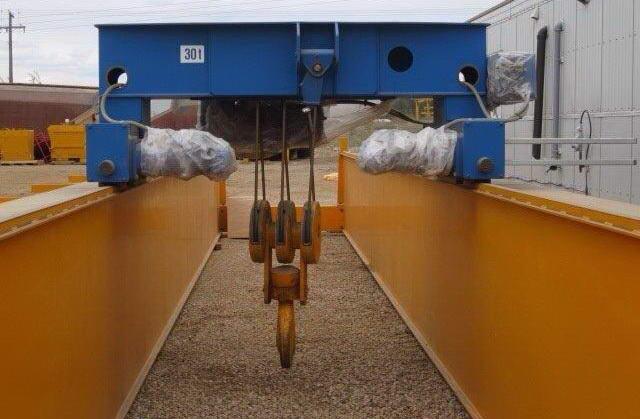 ABUS 30 Ton Double Girder Overhead Bridge Crane