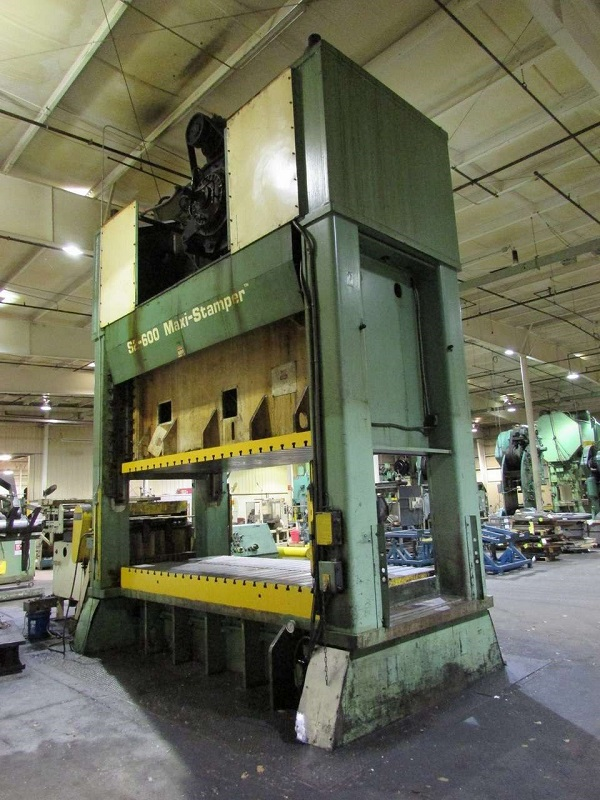 600 Ton Heim S2-600 Maxi Stamper Straight Side Press