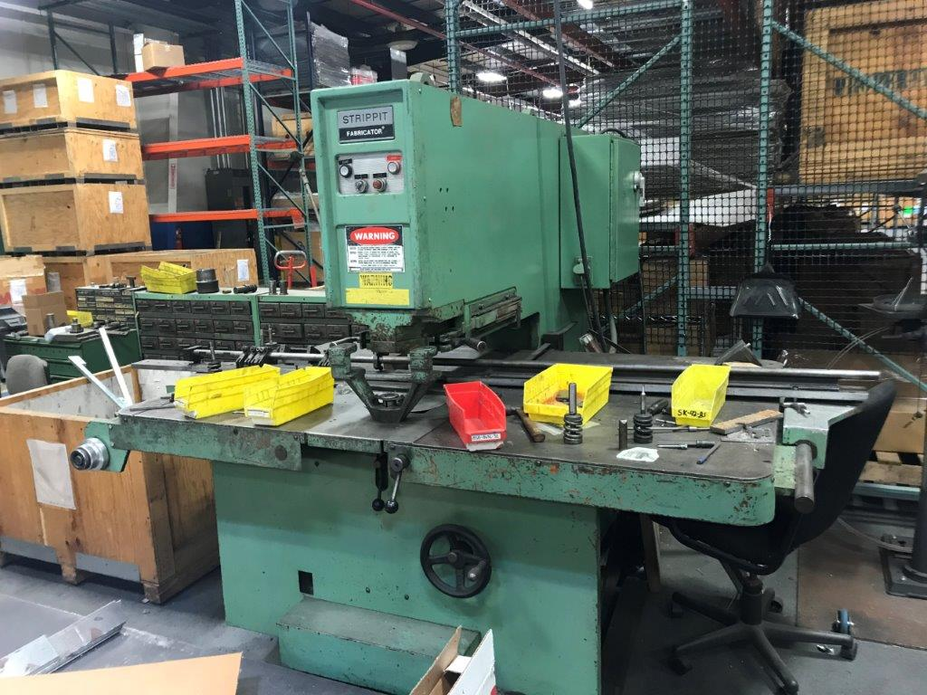 Strippit Super 30/40 Hydraulic  Turret Punch