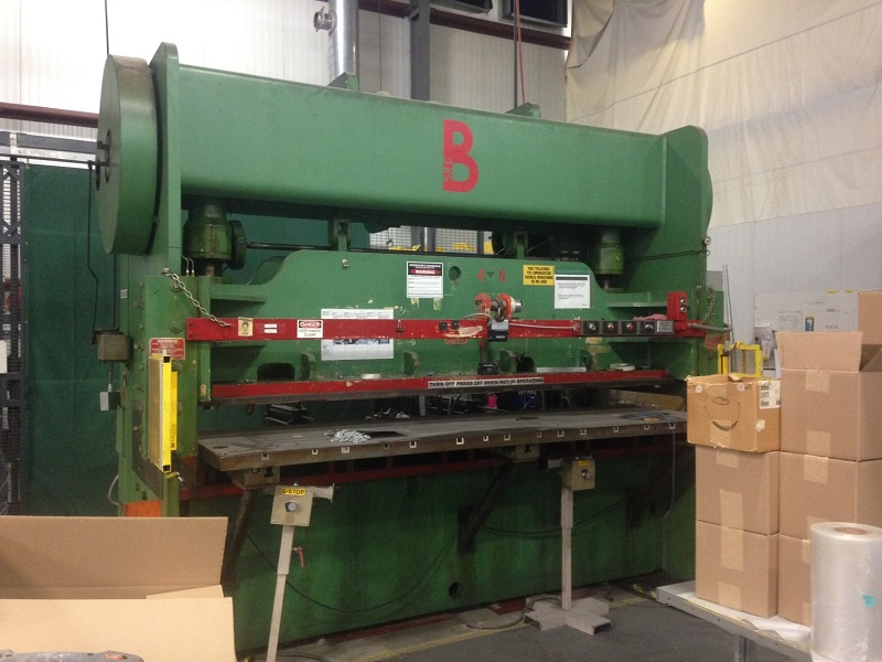 100 Ton Chicago Dreis & Krump Press