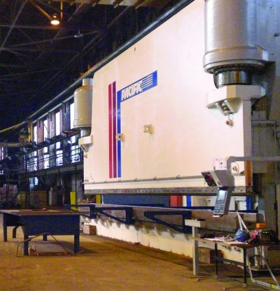 1750 Ton x 40' CNC Pacific Hydraulic Press Brake