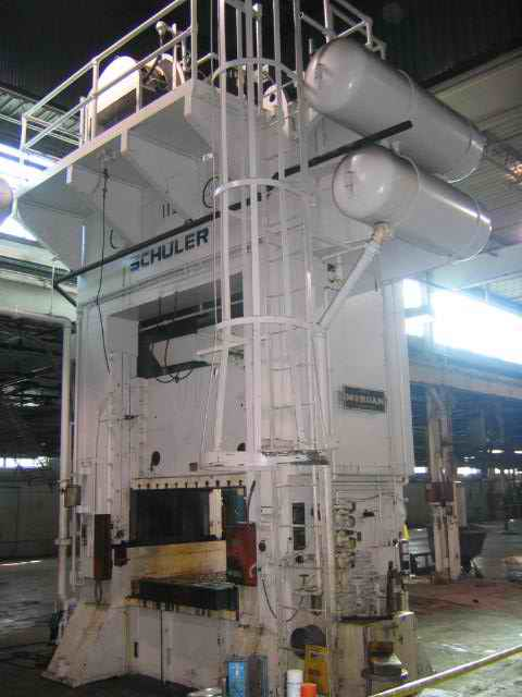 400 Ton Schuler Straight Side Double Crank Press