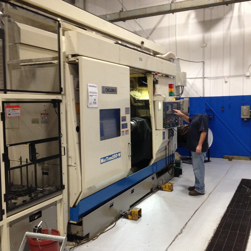 Okuma Macturn 250W 5-Axis CNC Turning Center