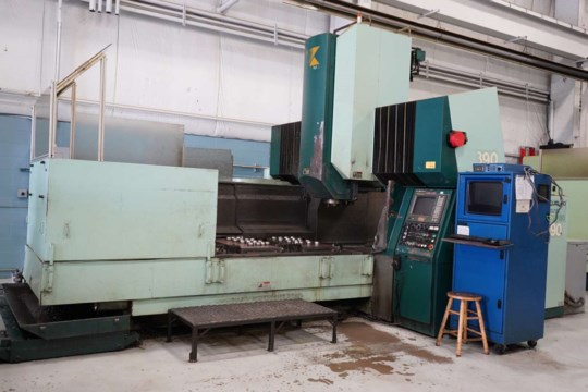 Kuraki KMV-130 CNC Bridge Mill