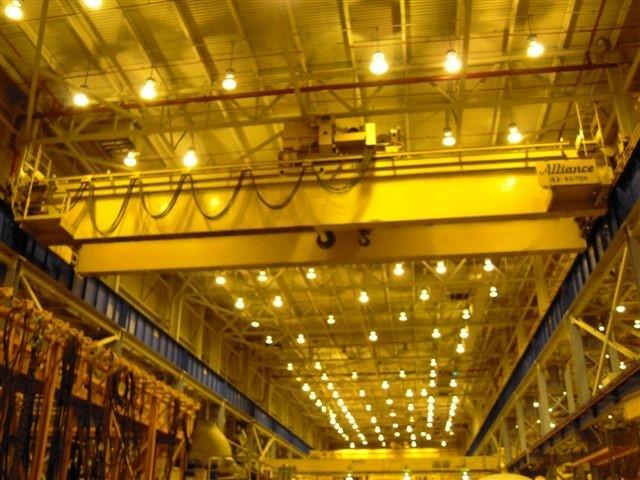 153/50 Ton Alliance Overhead Bridge Crane
