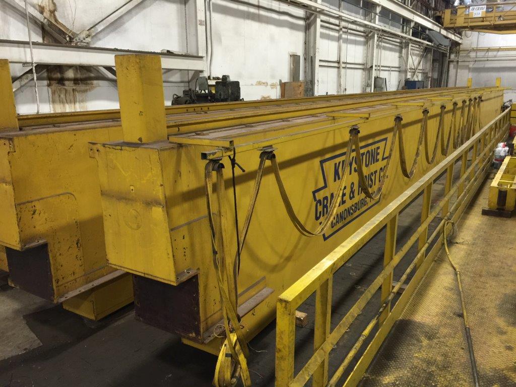 50-Ton Ace Top Running Double Girder Overhead Bridge Crane