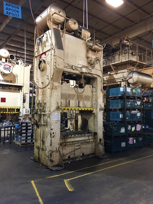 220 Ton Niagara S2-220-60-36 SSDC Press