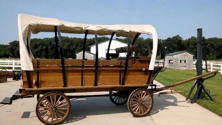 3-Ton Pioneer Covered Wagon