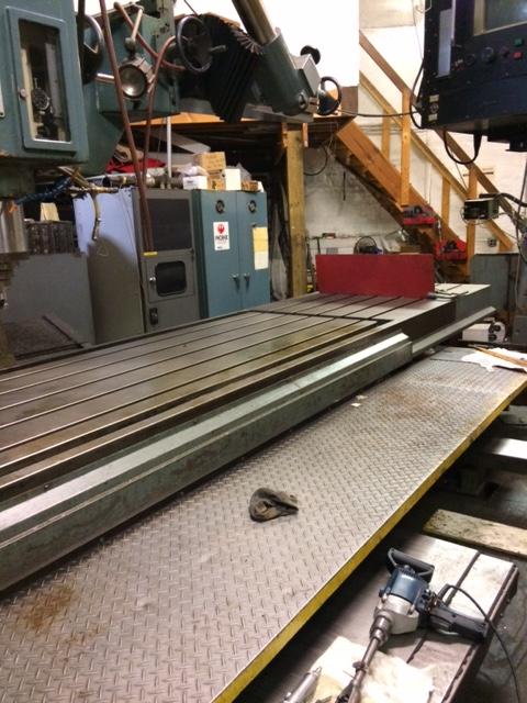 PHOENIX VTC 30-10 CNC MILLING/ROUGHING MACHINE. STOCK # 0954320