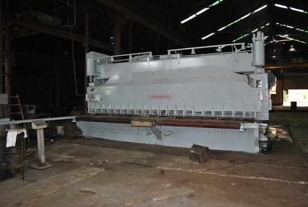 "20' x 5/8"" Cincinnati Model FLS Hytdraulic Squaring Shear"