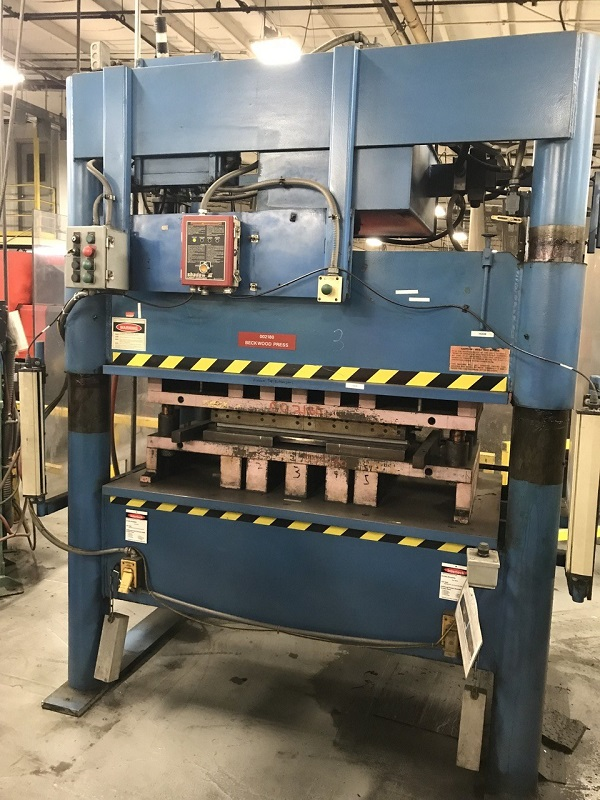 100 Ton Beckwood Hydraulic Press