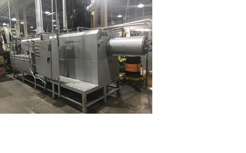 Roto-Clean Nat. Gas Parts Washer 22' Length x 15