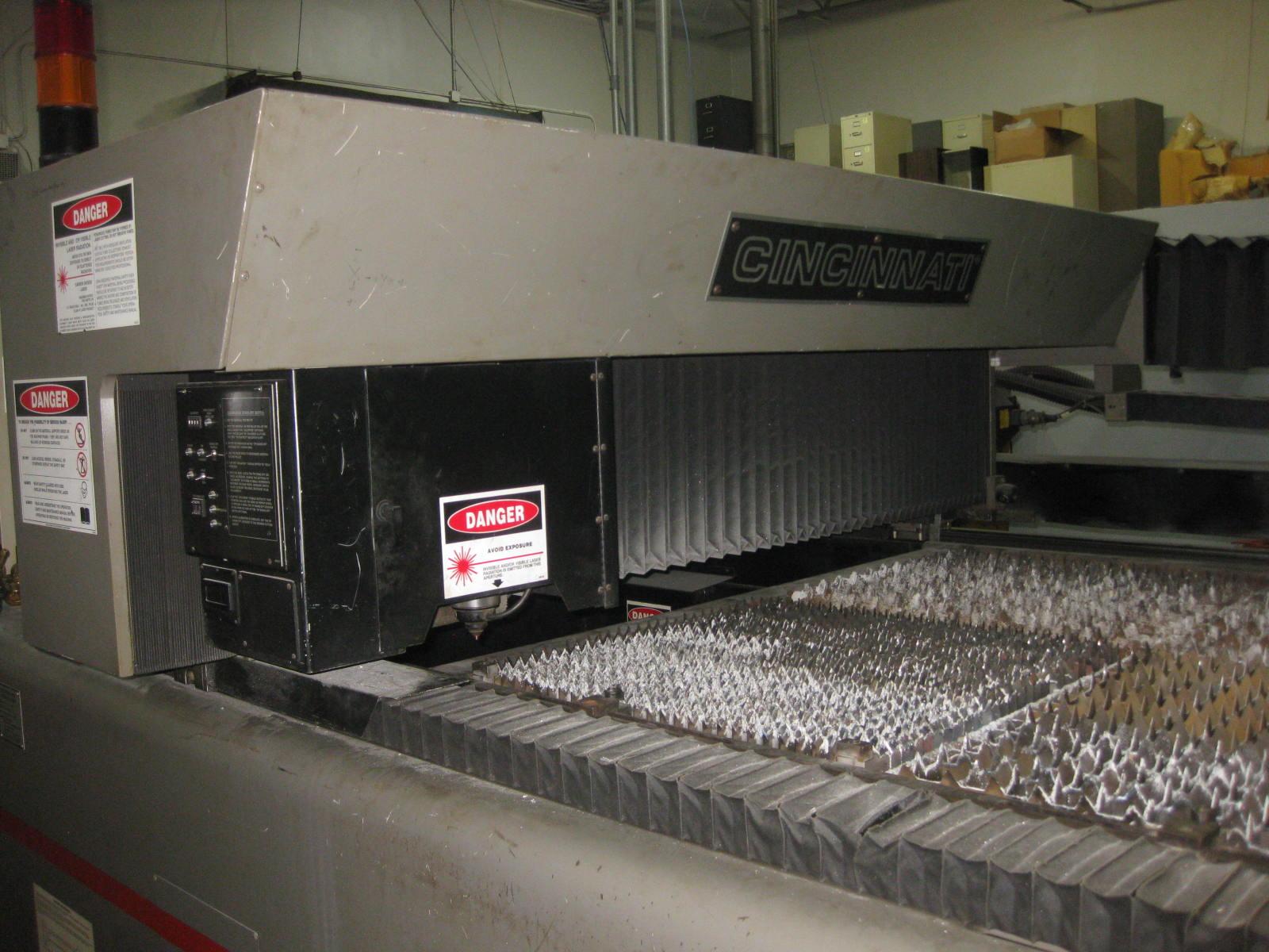 2000-Watt Cincinnati Laser, Model: CL-6
