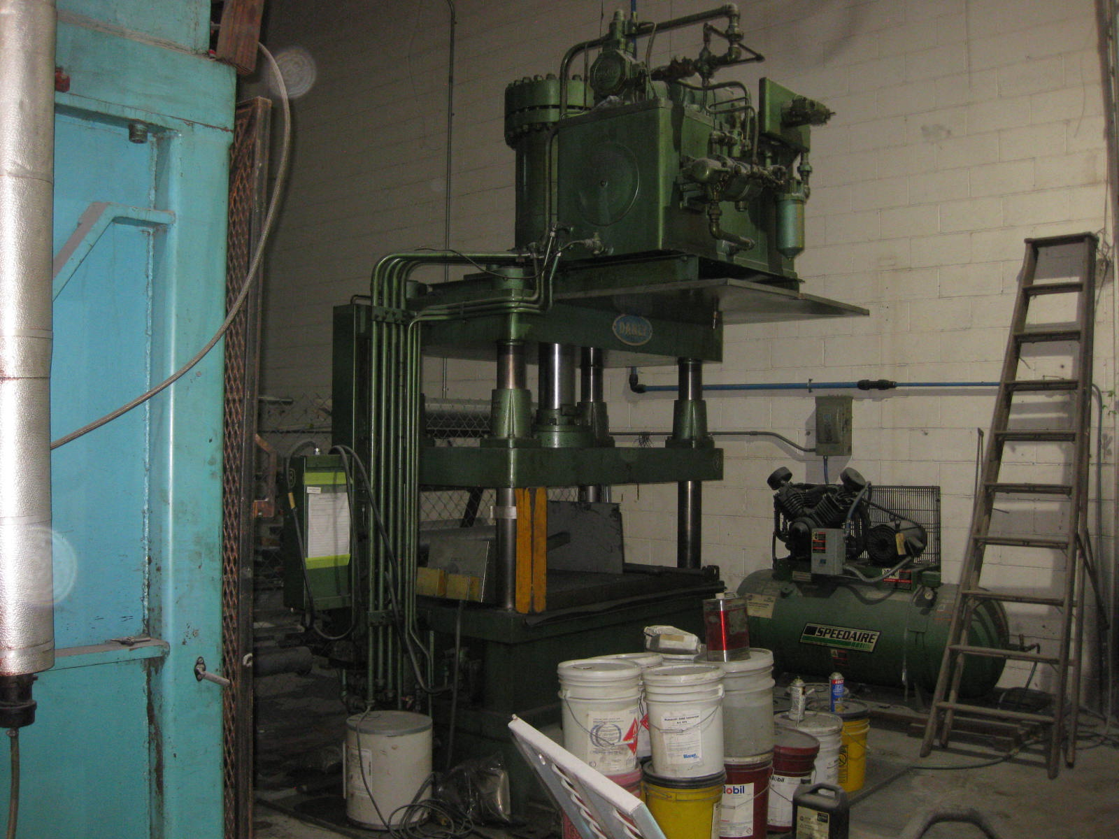200-Ton Danly Hydraulic Press, Model: CH200-48x36
