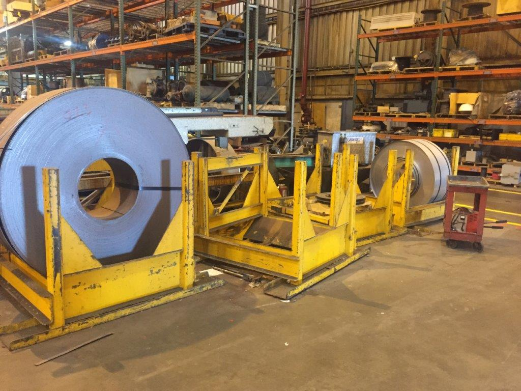 50,000 Lb. Box Type Coil Stand