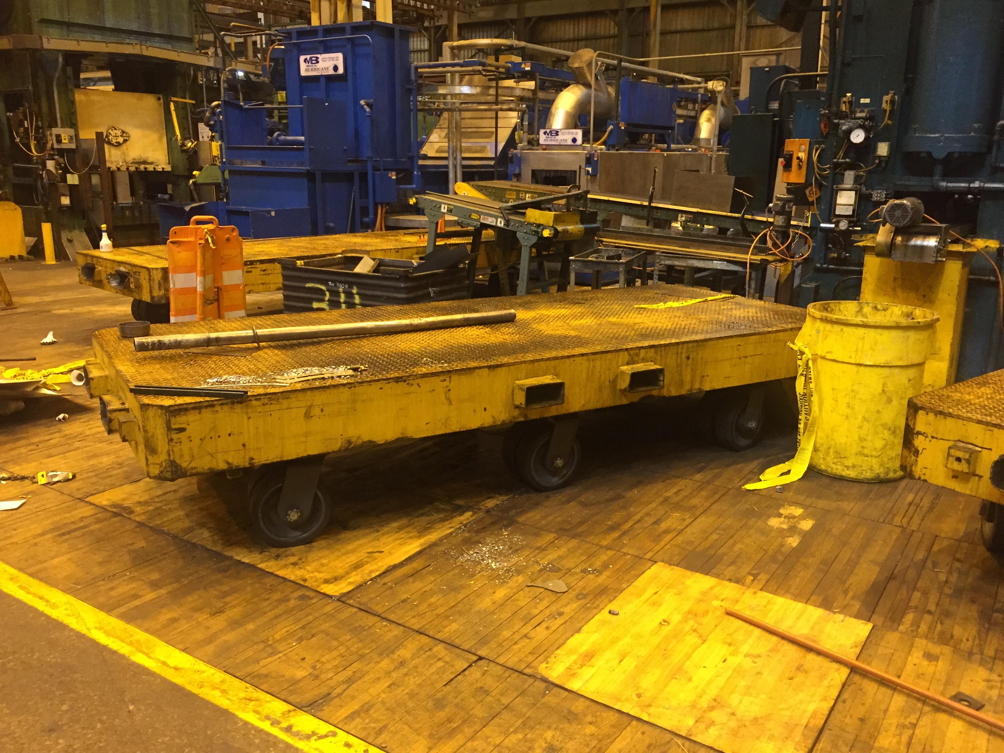 100,000 lb. Die Cart, 15' L x 5' W