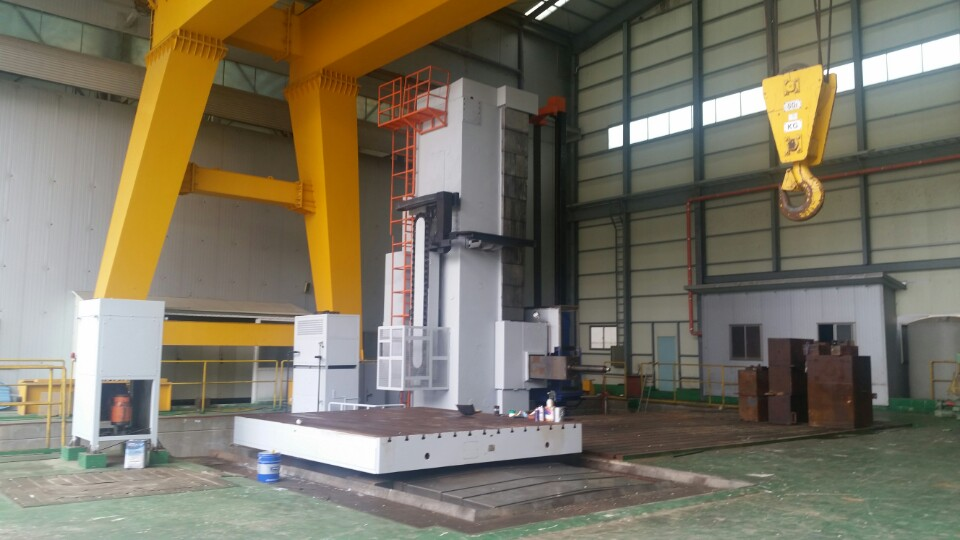 WUHAN CNC Floor Type Boring Mill