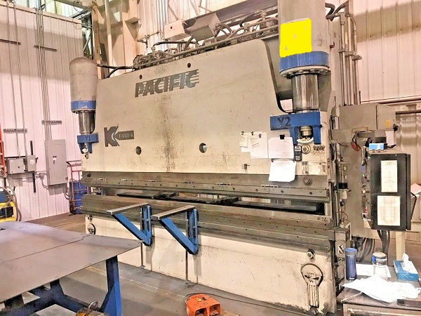 350 Ton x 14' Pacific Hydraulic CNC Press Brake