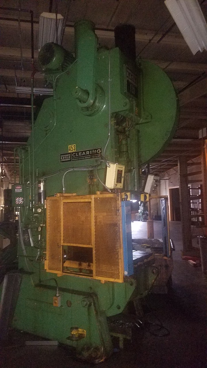 150-Ton Clearing OBI Press - Model: 150-P-701-OBI