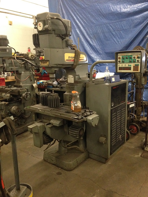 "Bridgeport 12 1/2"" x 34 1/4"" Series 1 CNC Mill"