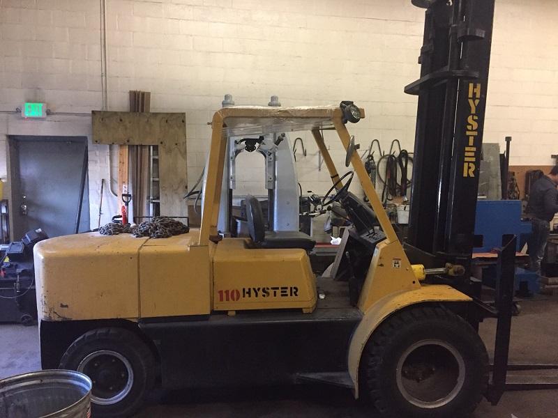 Hyster Model 110 11,000 lb Forklift