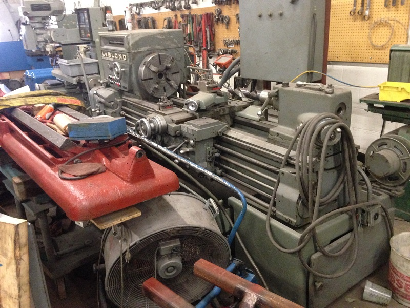 "20"" x 60"" Leblond Model 1610 Heavy Duty Engine Lathe"