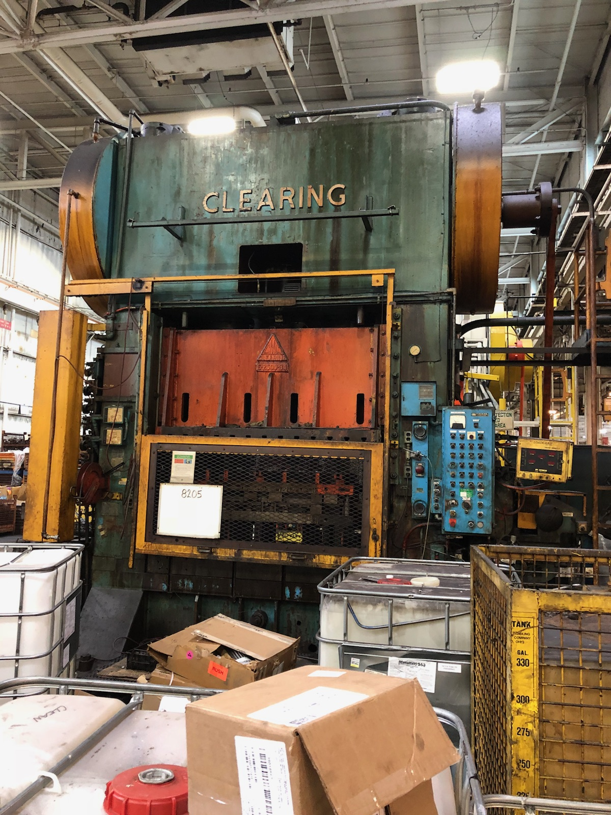 600-Ton Clearing SSDC 84 x 54 Press
