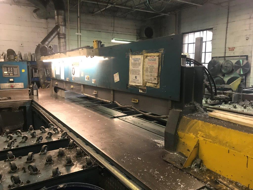 Metlsaw Model: NF1214-T6, 12'  Automatic Plate Saw