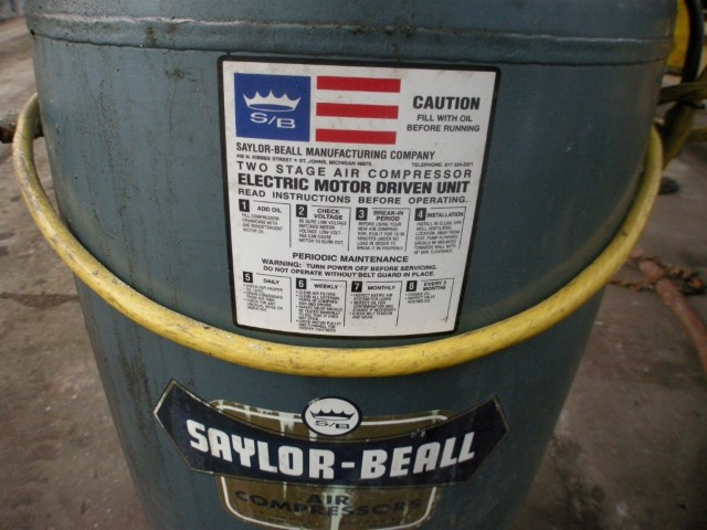 Saylor-Beall 2 HP Air Compressor