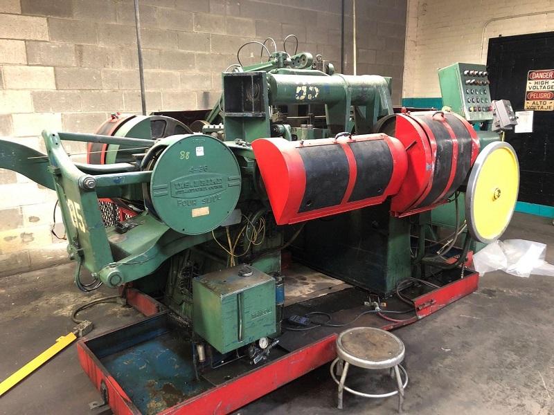 """1/4"""" x 36"""" US Baird Model #4-36 Four Slide Wire Machine"""