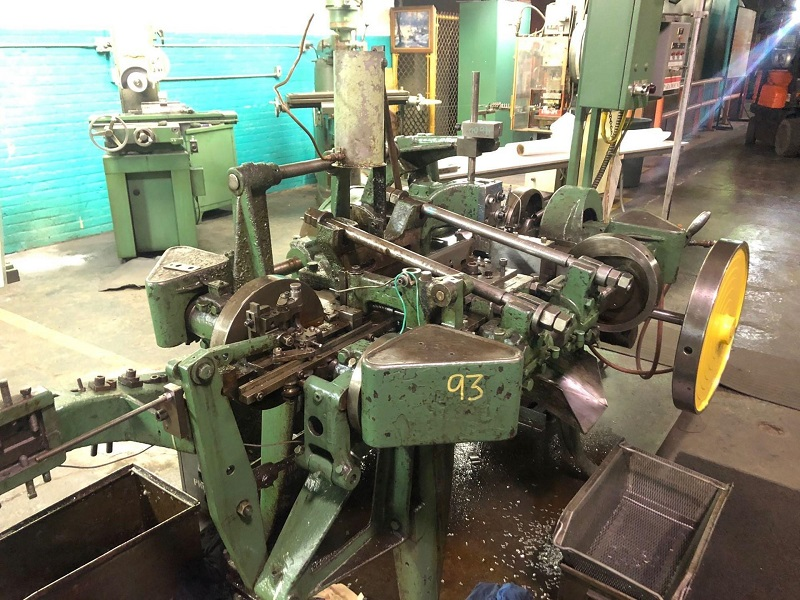 Nilson S-2-F Four Slide Wire Machine