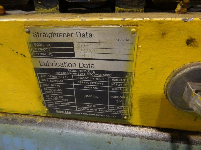 """Niagara 24"""" Straightener, Model 350-7-24"""