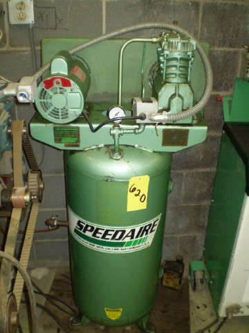 Speedaire 3 HP Air Compressor