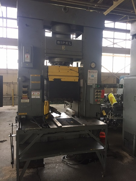 150-Ton BIPEL Hydraulic Press W/ Heated Platens