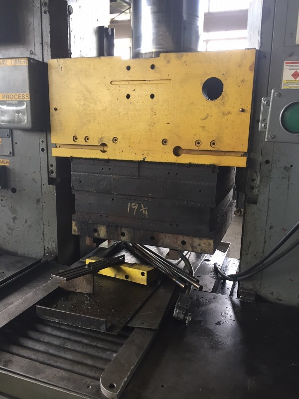 150-Ton BIPEL Hydraulic Press w/ Heated Platens