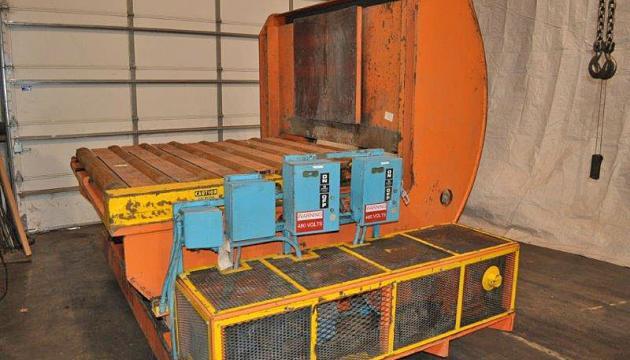"30,000# x 48"" Bradbury Upender / Coil Car"