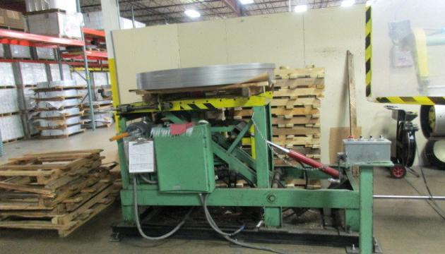 10,000# Wean Coil Upender