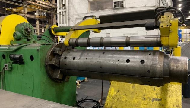 "60"" x .090"" x 40,000# ProEco/Cincinnati Dual Injector Head Slitting Line"