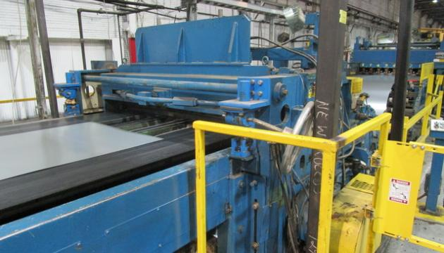 """72"""" x .075"""" x 40,000# Dahlstrom Loop Cut-To-Length Line"""