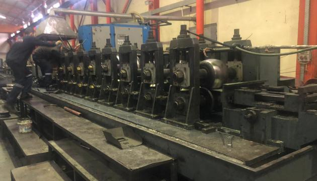 """5.5"""" (139mm)  x 5mm (.200"""") Ocevi Pipe Mill Line New in 1990 (Upgraded in 2018)"""