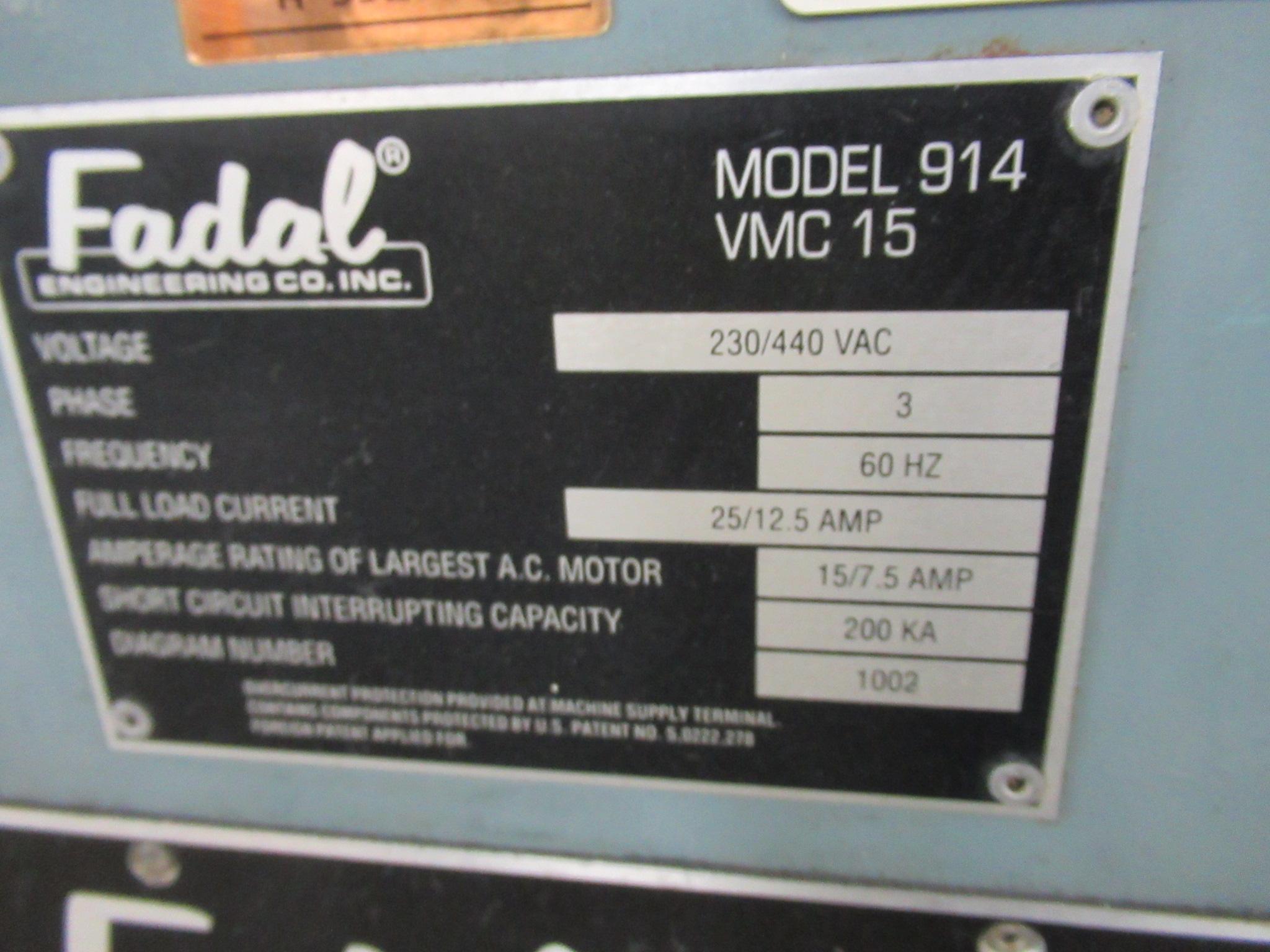 Fadal - VMC 15