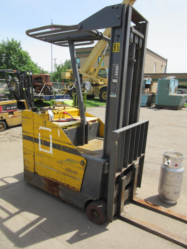 Forklift Prime Mover Double Mast